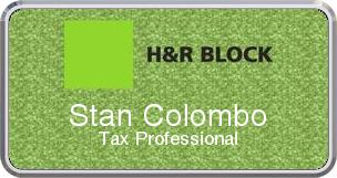 Colordome Accounting Namebadges