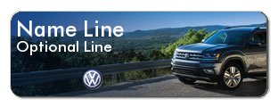 Colordome Volkswagen Name Tags