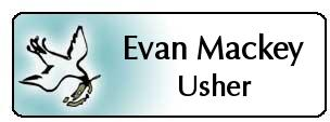 Engraved Usher Namebadges